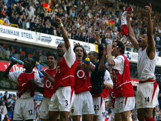 Arsenal Invincibles White Hart Lane