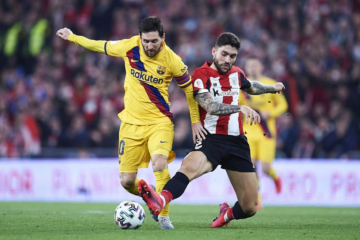 Arsenal target Unai Núñez in action for Athletic Club