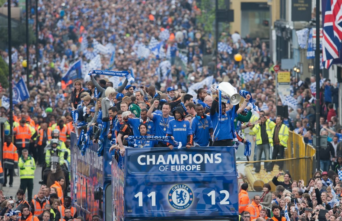 Chelsea lift the Champions League trophy in 2011/12 - would they be a candidate for a European Super League