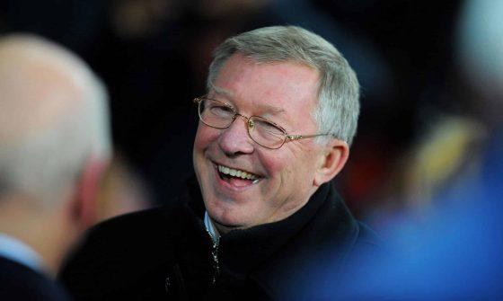 Alex Ferguson manager of class of 92