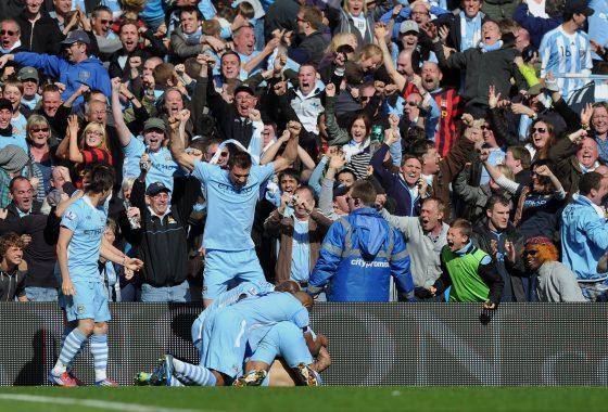Clasificacion historica liga inglesa: Manchester City
