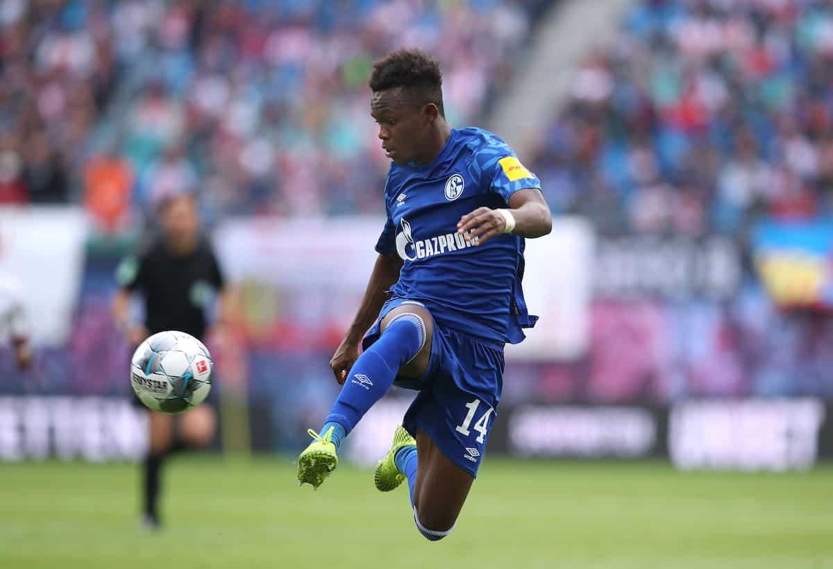 Schalke's Welsh forward Rabbi Matondo