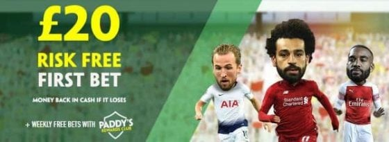 Paddy power risk free bet offer