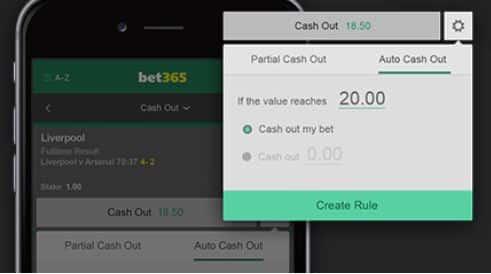 La app móvil de Bet365