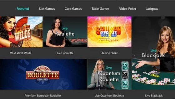 bet365 mobile casino lobby