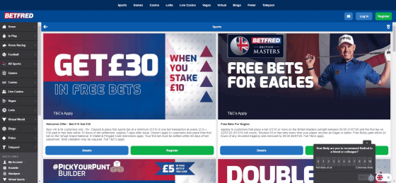 Betfred football betting: Odds & Tips