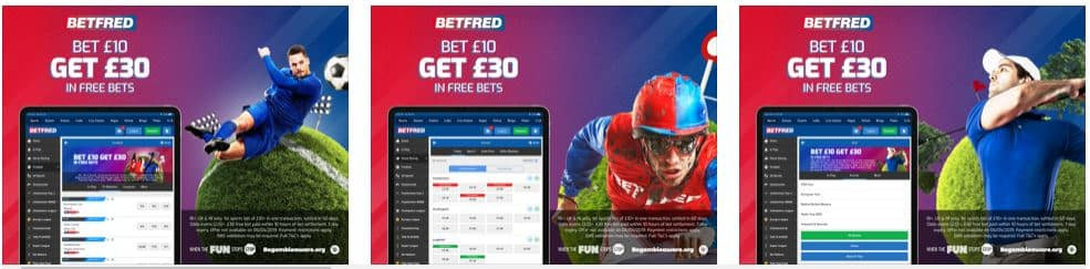 Different Sports Offers at Betfred