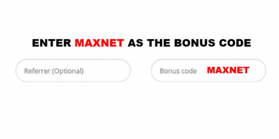 netbet bonus code MAXNET