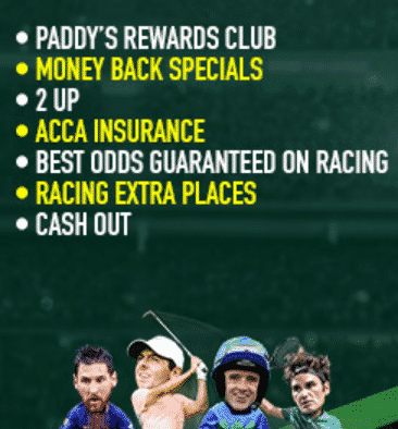 paddy offers