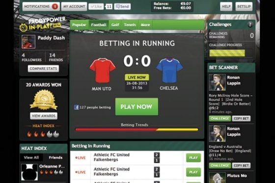 paddy power live betting