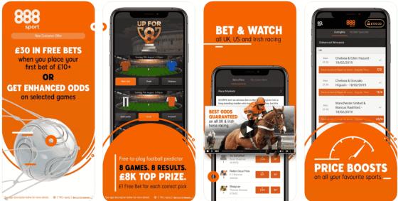 888Sport Sign Up Offer: Get £30 Free Bet