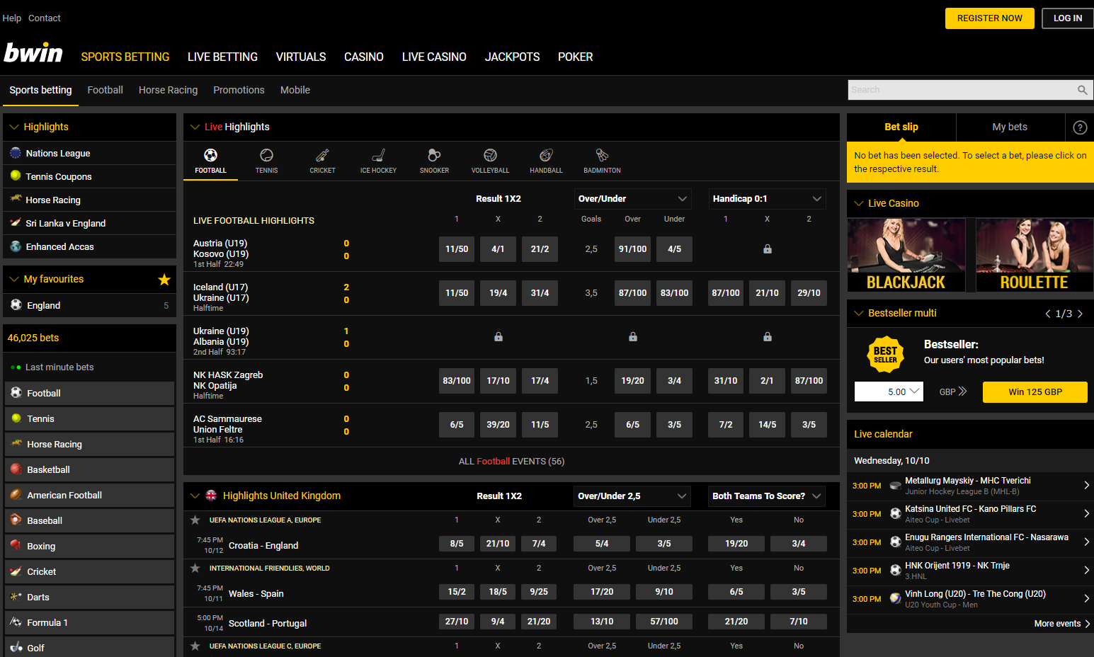 Premier sports betting bet and win code today betting games