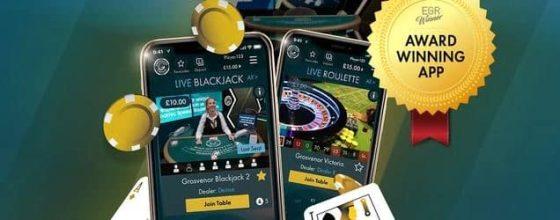 Grosvenor Casino mobile app