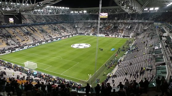 Juventus Stadium for Juventus vs Napoli match