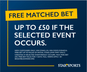 star sports bet bonus