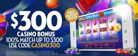 Caesars Casino bonus code online