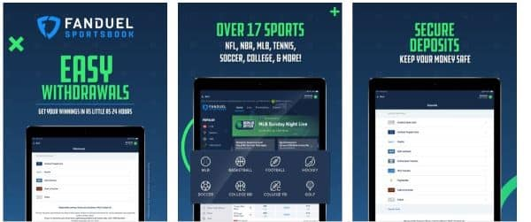 Fanduel Sportsbook Offers: Receive up to $1,000 as a free bet refund
