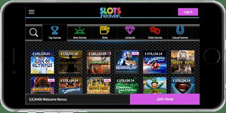 Slots heaven mobile app
