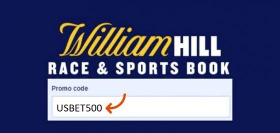 william hill us promo code USBET500