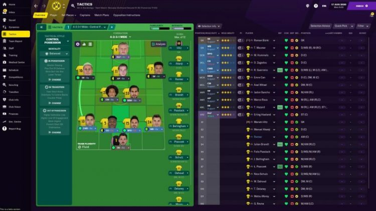 Football Manager 2021: Five Skins to Try in FM21