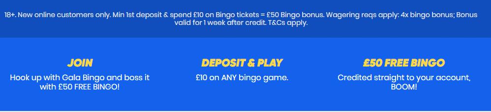 gala bingo offer