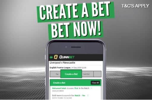 Quinnbet create a mobile bet