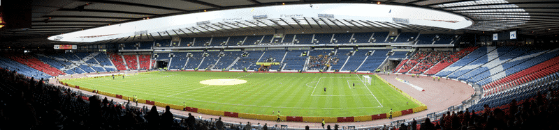Scotland v Croatia at Hampden Park