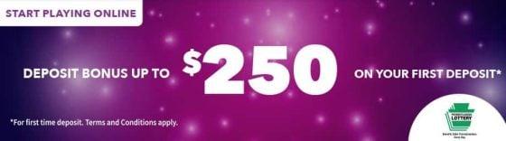 pa lottery welcome bonus