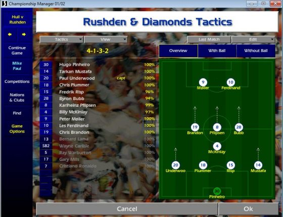 Championship Manager to Football Manager: a look back the most popular football management simulator