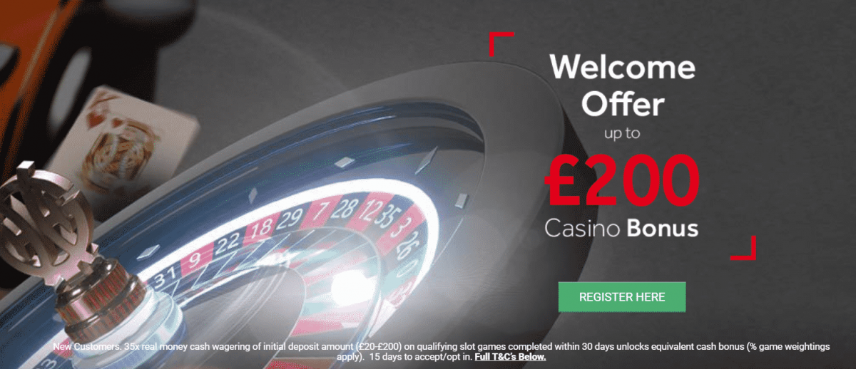 genting casino £200 welcome offer