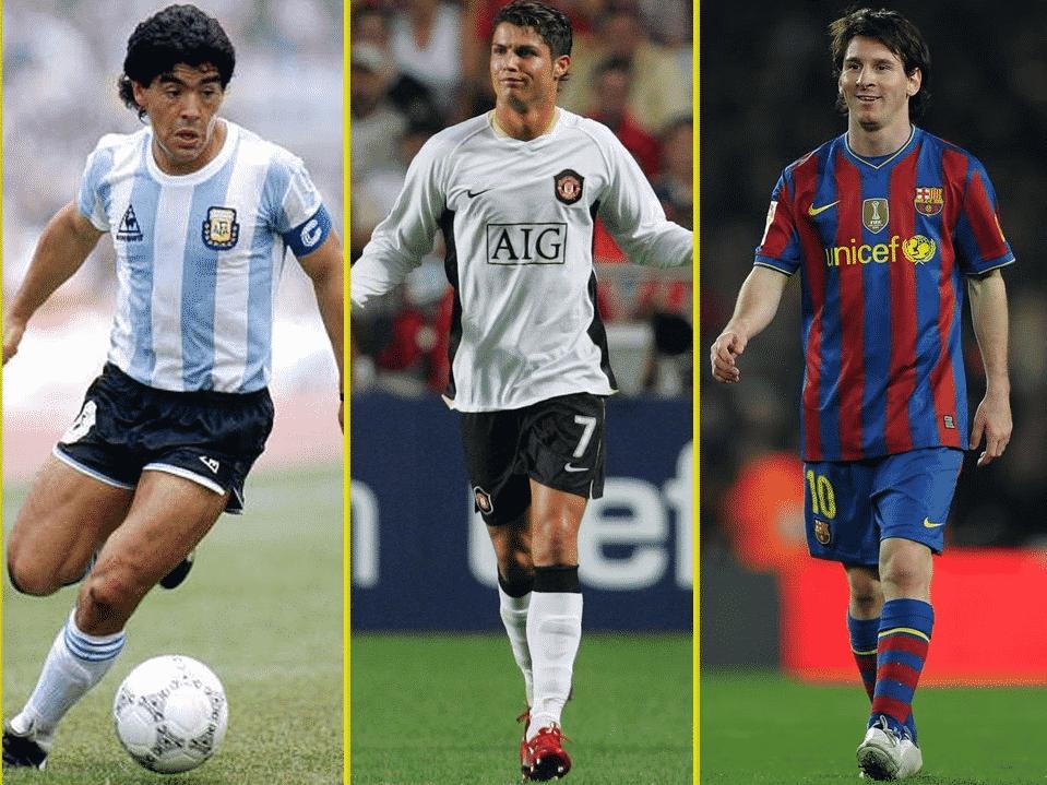 Maradona vs Ronaldo vs Messi: Comparing three all-time greats