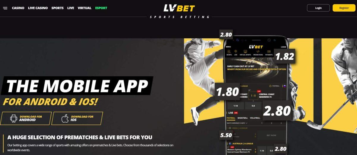 lvbet Sports app