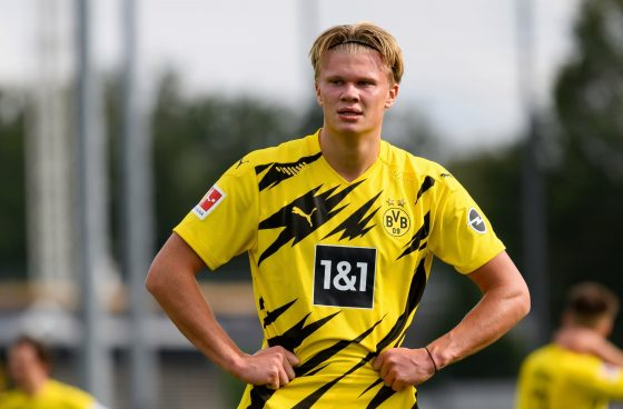 Borussia Dortmund slap €180 million valuation on Erling Haaland