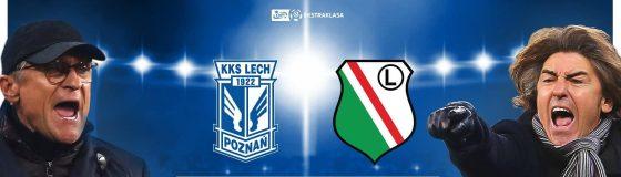 Lech Poznań - Legia Warszawa (11.04): typy i kursy bukmacherskie