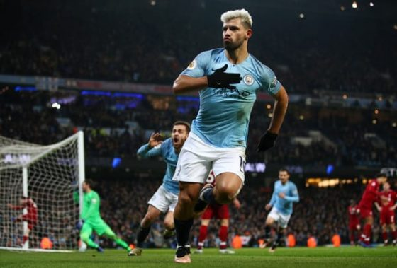 Chelsea favourites to sign Sergio Aguero on a free from Man City