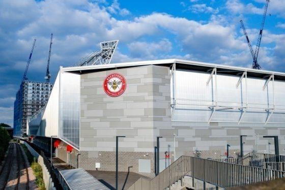 Which are the new UK football stadiums