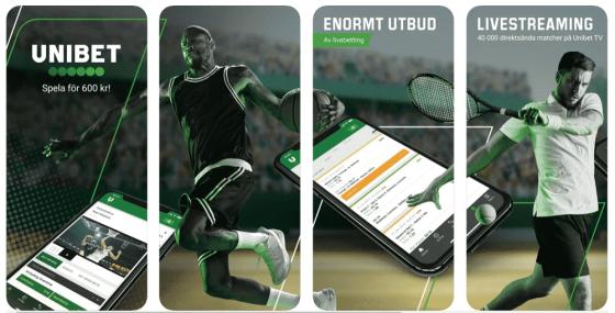 Unibet Bonuskod: Spela på mobilen
