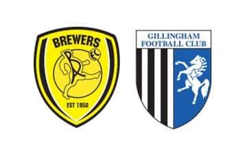 Burton vs gillingham prediction