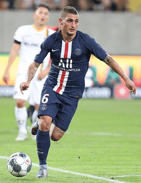 Verratti Ligue 1 21-22