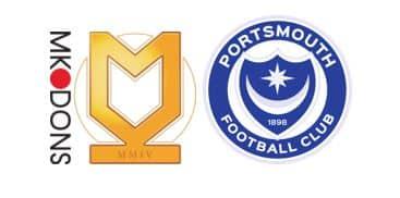 mk dons vs portsmouth prediction
