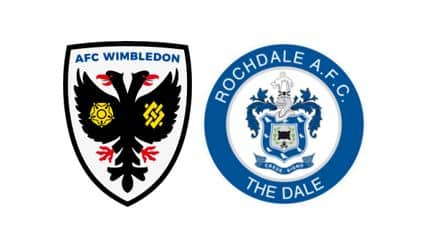wimbledon vs rochdale prediction