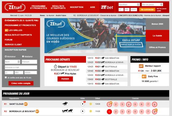 PMU vs ZETurf: quel est le meilleur site de Turf en ligne?