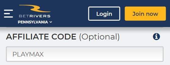 betrivers bonus code