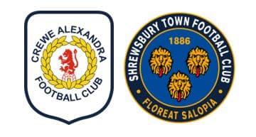 crewe vs shrewsbury prediction