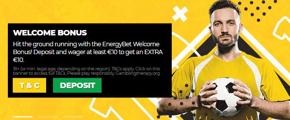 EnergyBet bonus code: Enter MAXEC to get the sign up offer!