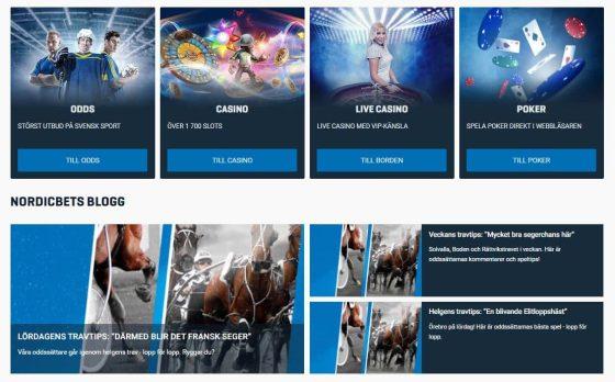 NordicBet Bonus: Casino