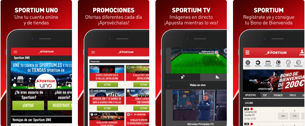 sportium app