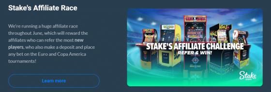 promotion casino Stake.com