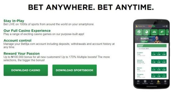 Bet9ja promotion code for Mobile