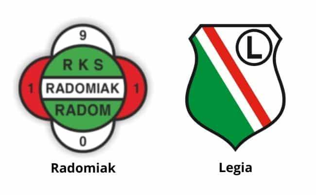 Radomiak - Legia typy